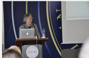 Joan Lippincott at AUK 2014