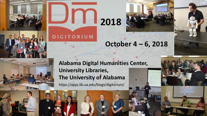 Flyer for Digitorium 2018